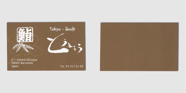 Tokyo-Sushi Card