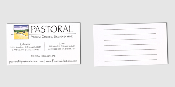Pastoral Card