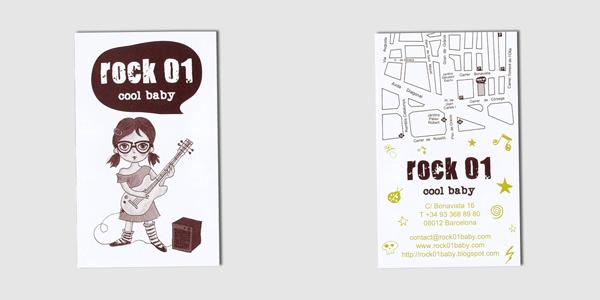 Rock 01 Card