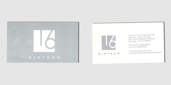 Sixteen Card