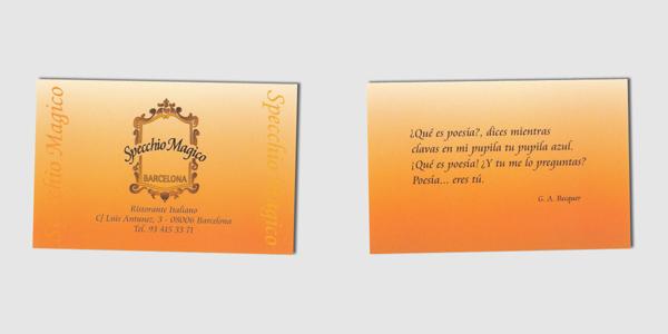 Specchio Magico Card