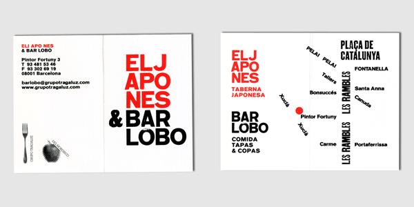 Bar Lobo Card